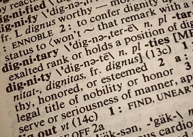 dictionary page