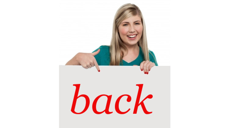 English expressions and phrasal verbs with BACK