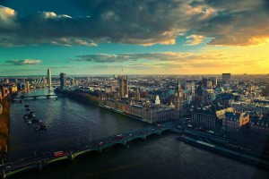 London is on the river Thames