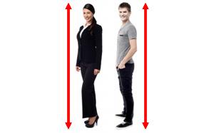 same height