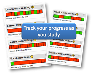 IELTS track your progress