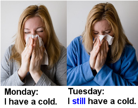 woman still ill